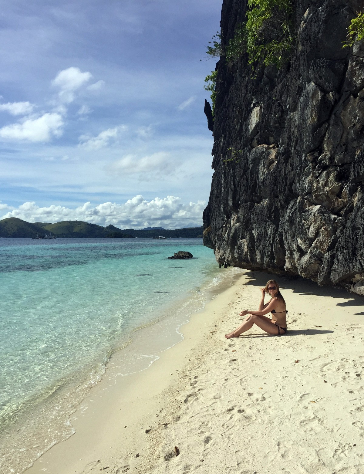 Nastya on Paradise Banul Beach - Travelblogstories