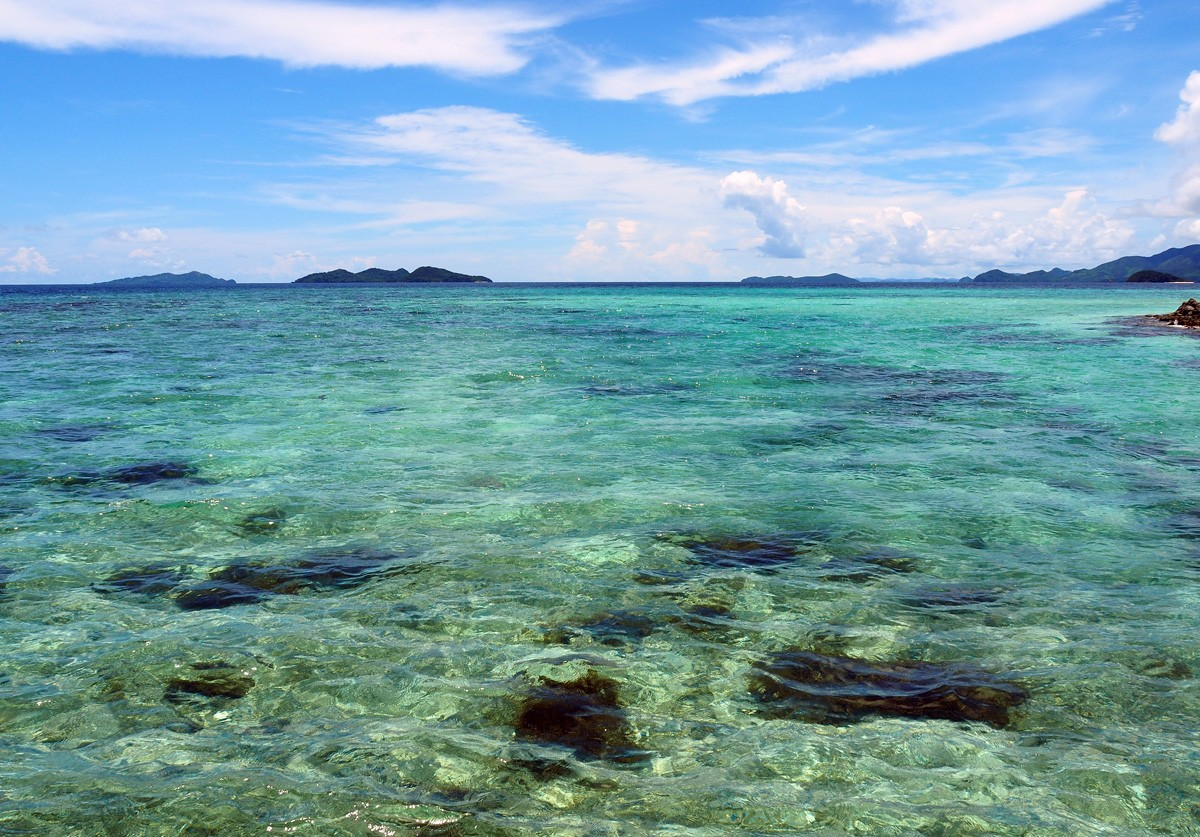 Clean water on Palawan, Philippines