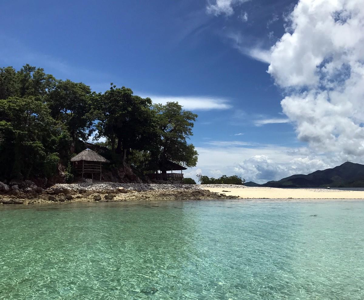 Cheron island beach, palawan
