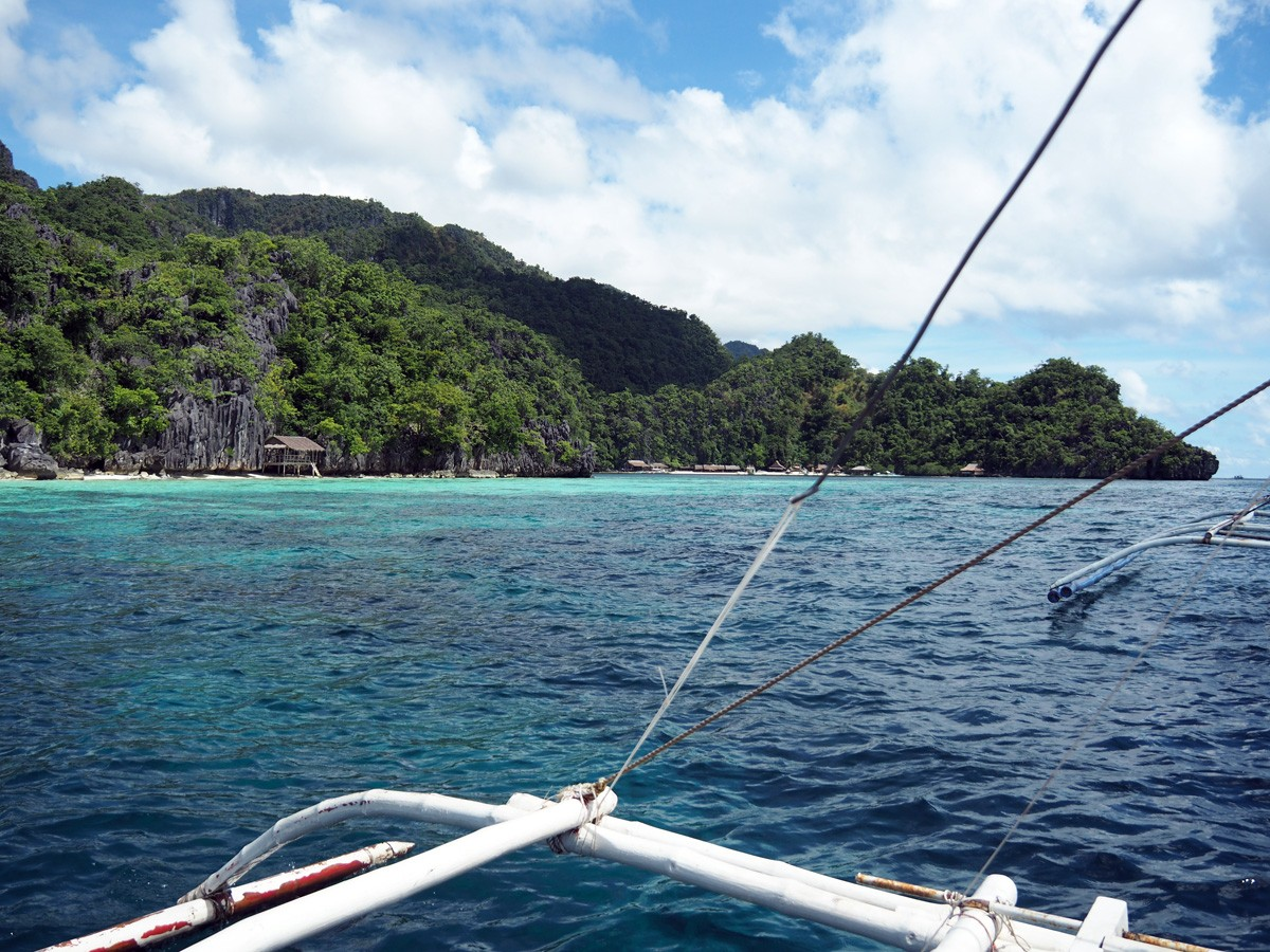Tour to coral garden on boat, Coron