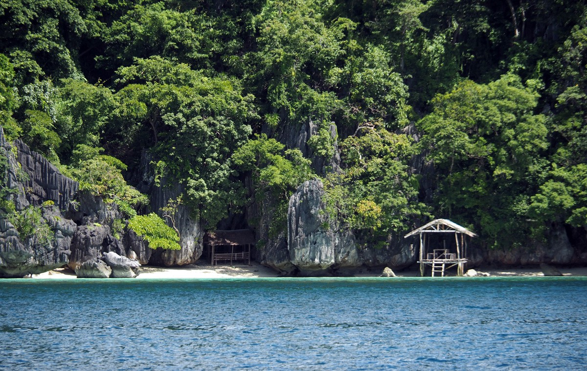 Twin lagoon coron, palawan