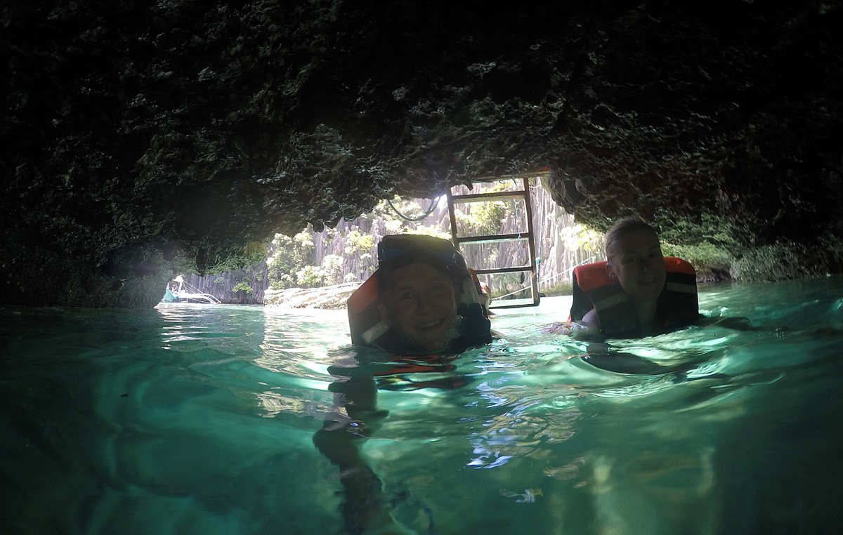Twin Lagoon Coron Philippines