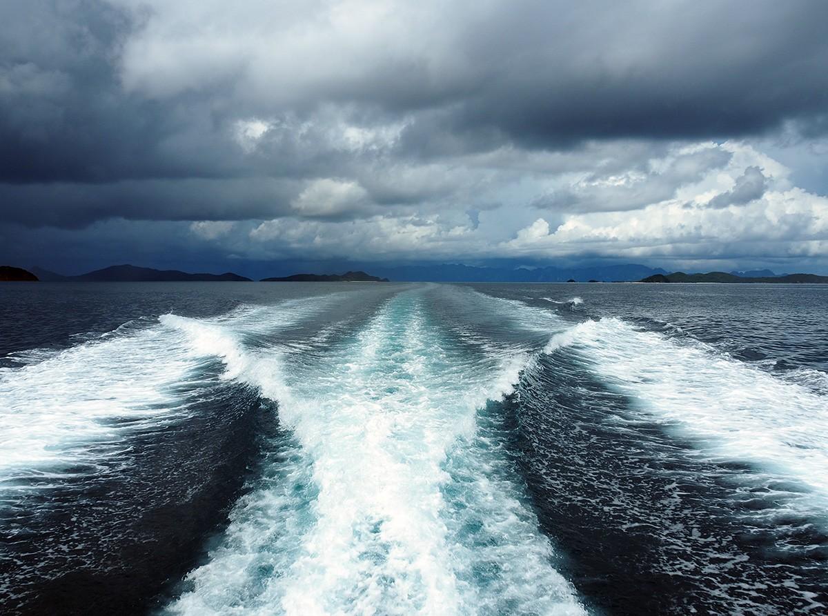 Fast Ferry montenegró lines coron to el nido