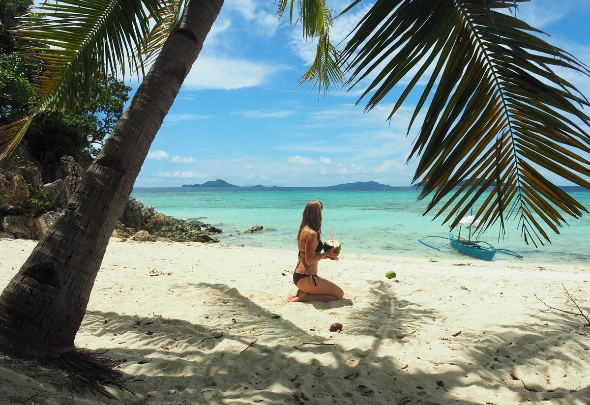 Malcapuya island beach Philippines - Travelblogstories