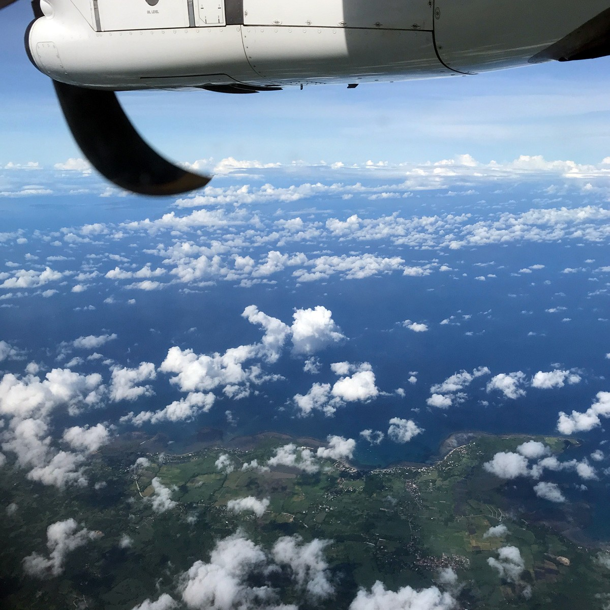 Busuanga, Philippines - airplane view