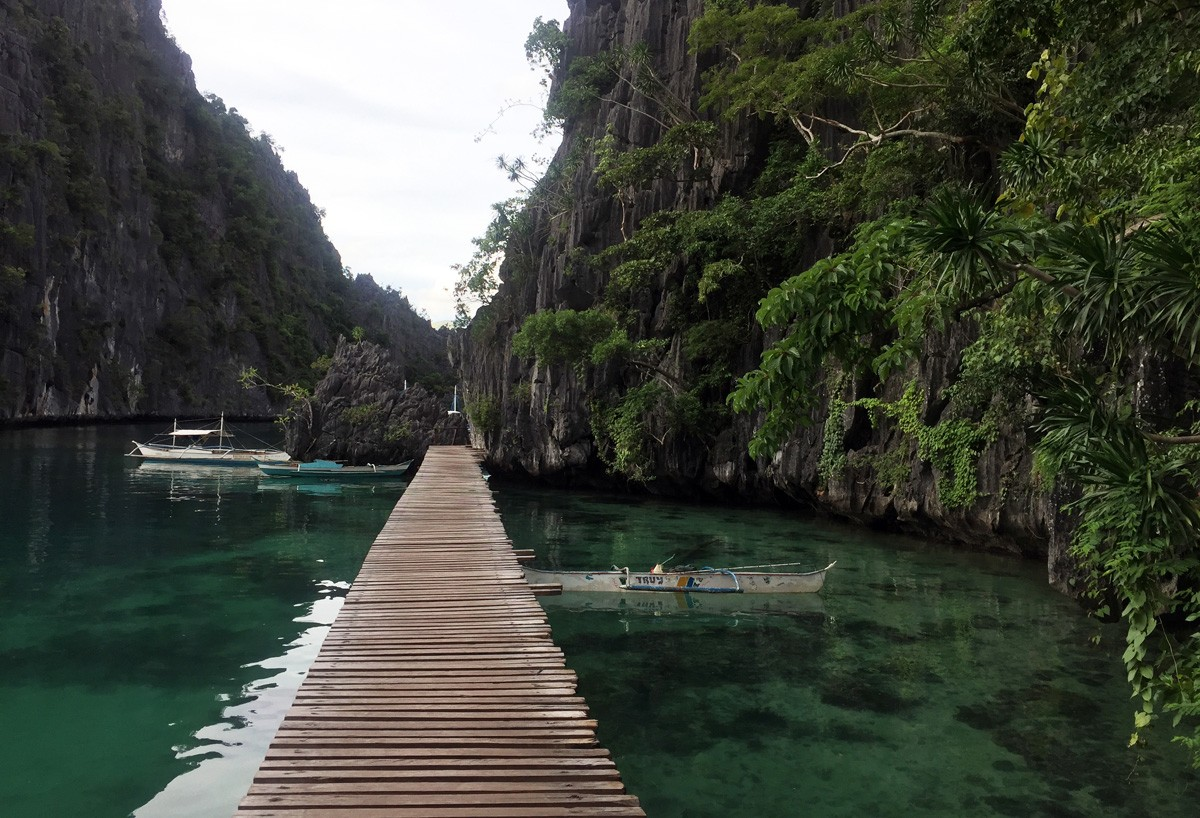 Kayangan Lake view, Coron, Palawan