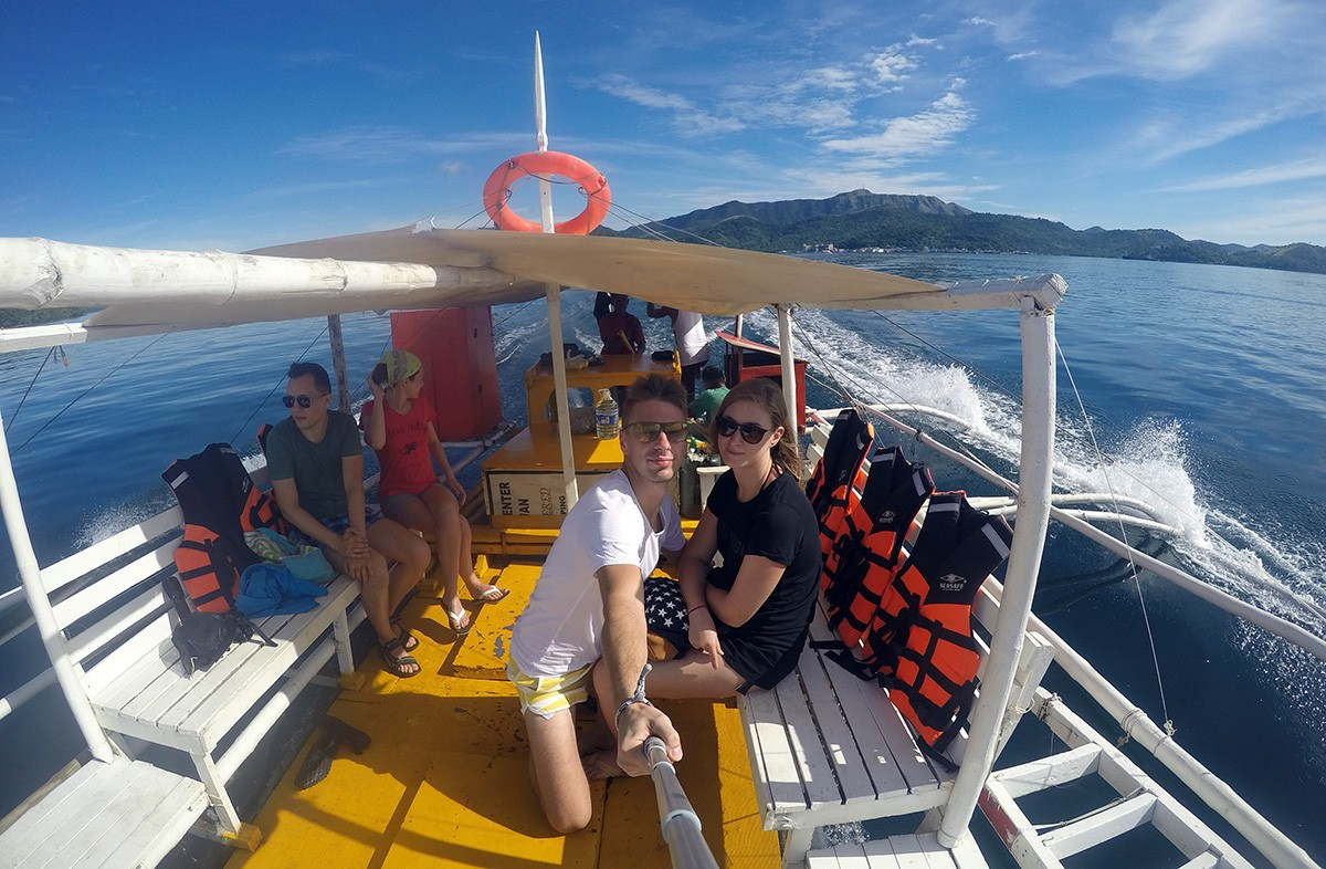 Nastya & Andrei Rent a Boat to Visit Beautiful Places - Busuanga Travelblogstories