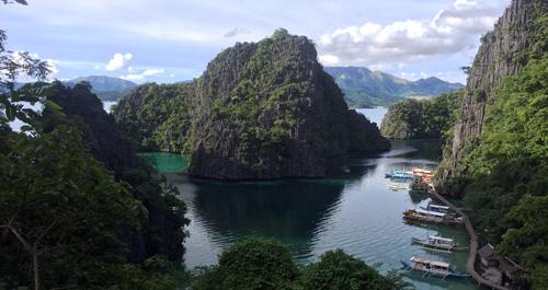Coron island lakes tour A
