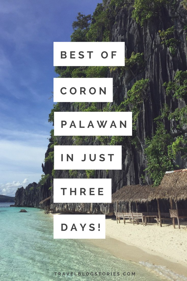 Great ideas for seeing Coron, Palawan, Philippines in just three days! Best Places to Visit on the Map | Twin Lagoon, Coral Garden, Skeleton Wreck, Banol Beach, Kayangan Lake, Barracuda Lake, Malcapuya island, Cheron Island | Mt. Tapyas | KT's Sinugba Sa Balay cafe, Altrove Coron cafe