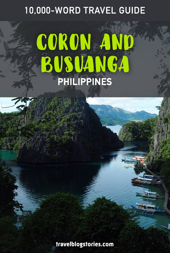 Coron Palawan Travel Guide Itinerary Amp Budget Of The