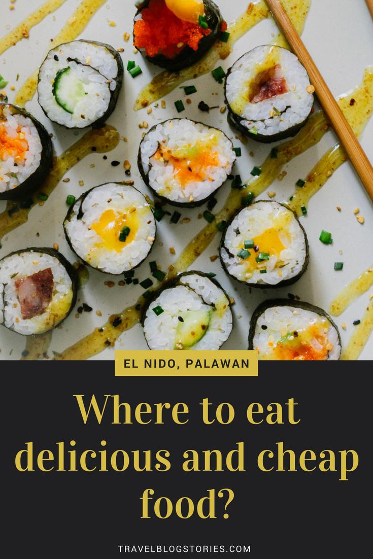 Where to eat El Nido