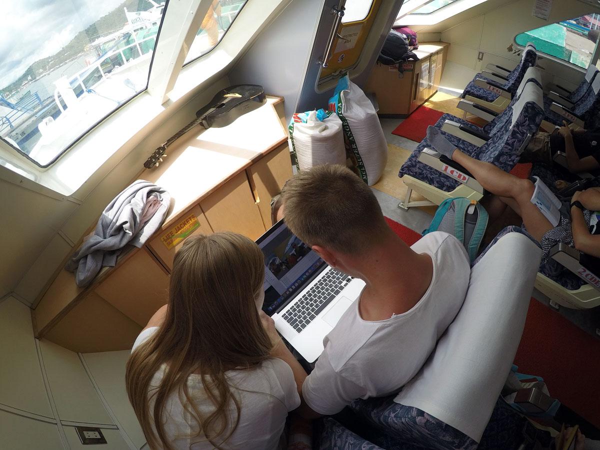 El Nido Ferry trip