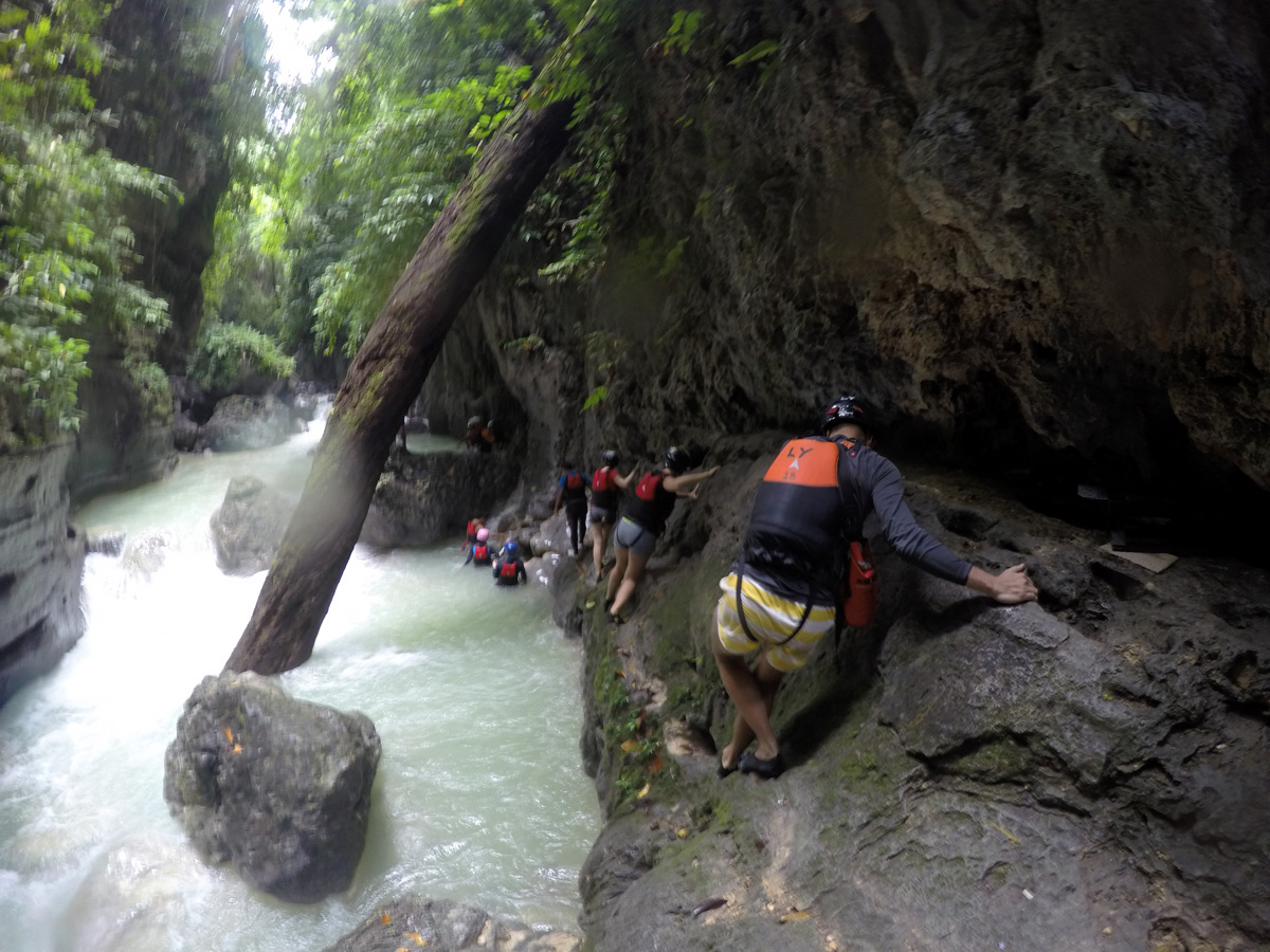 foto_canyoneering_cebu