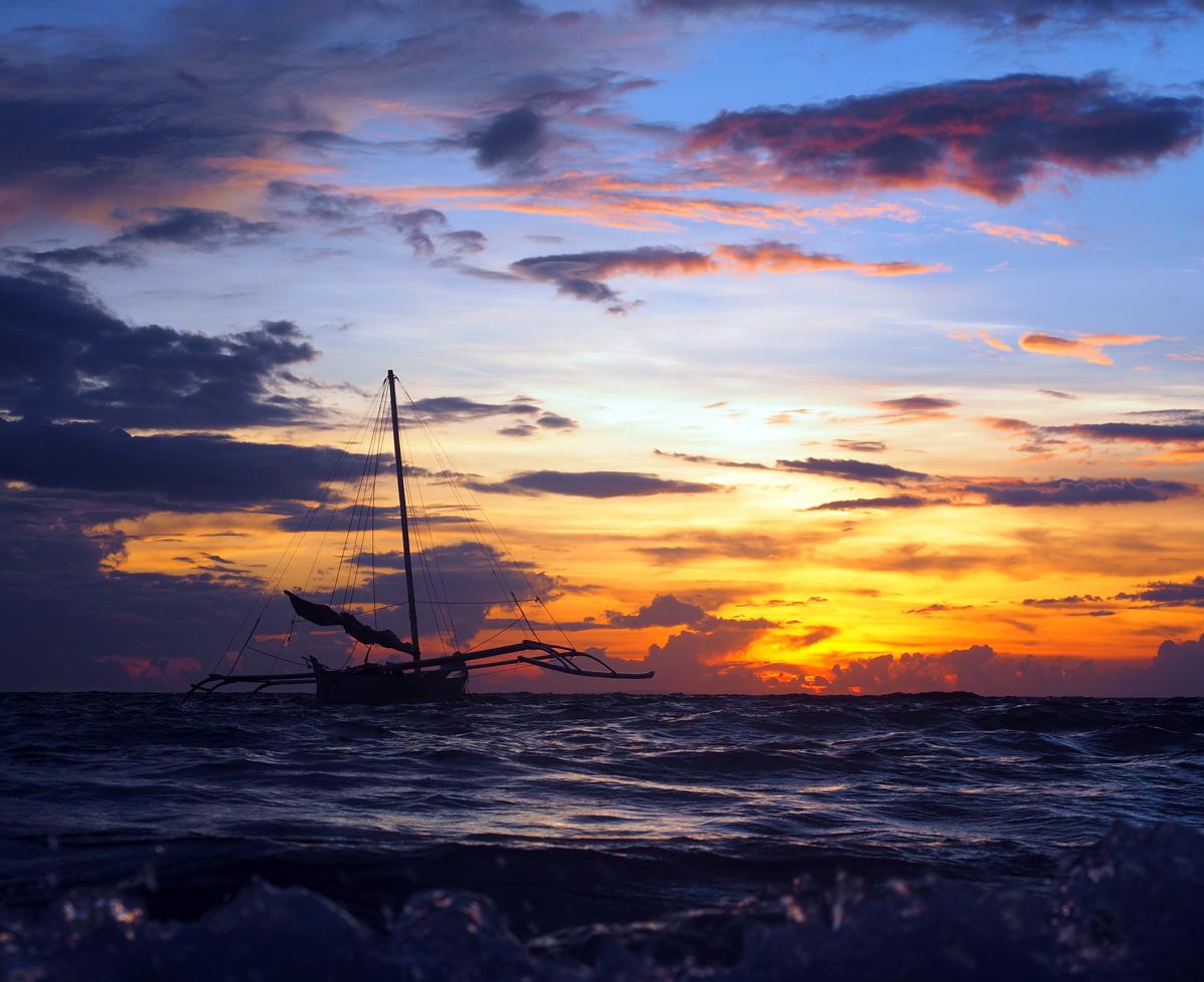 photo_boracay_sunset_boat_philippines