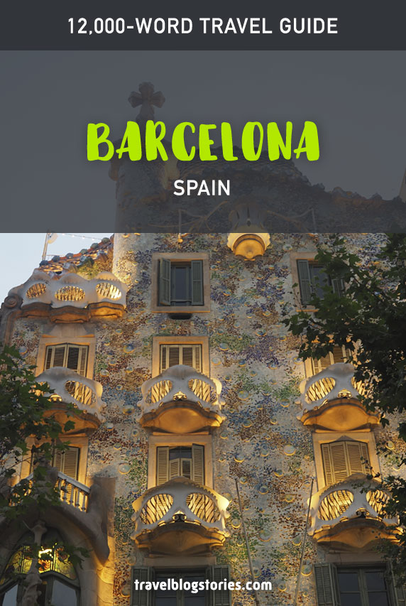 Barcelona travel guide - attractions to visit and how to get there