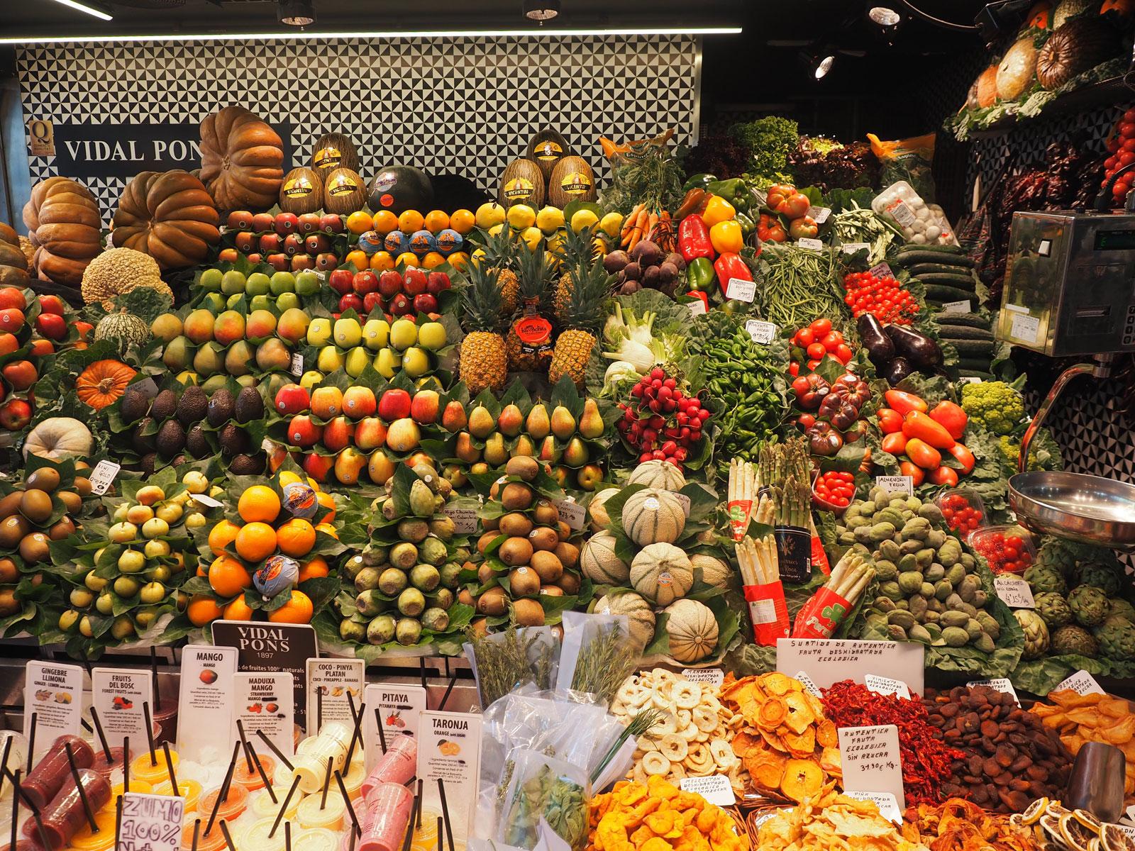 la_boceria_fruits