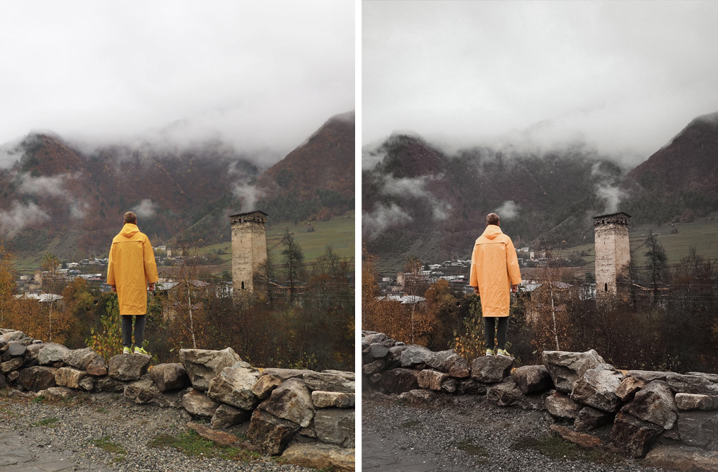 Photo presets for Instagram