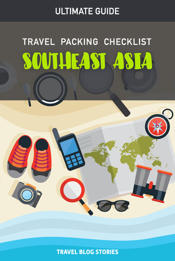 Southeast Asia Packing Checklist 2019