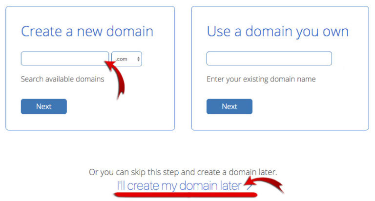 create_domain_bluehost