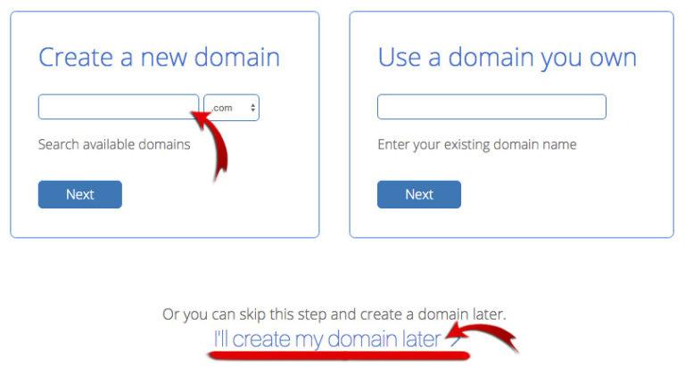 create_domain_bluehost