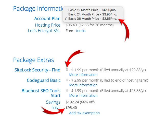 Blog hosting best priceg