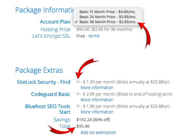 Blog hosting best priceg