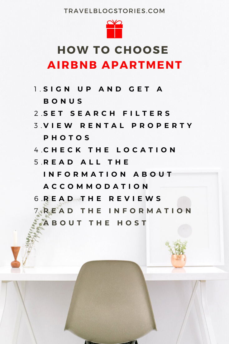 How to choose Airbnb apartment