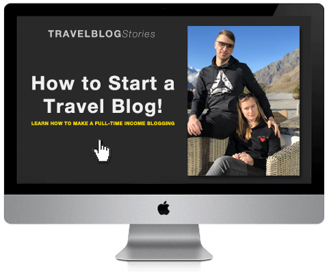 How to start a travel blog free course